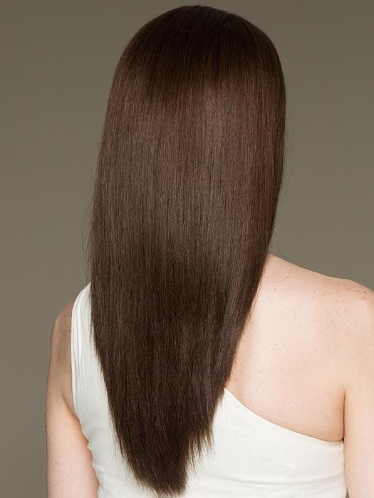 XENITA by ELLEN WILLE in CHOCOLATE MIX | Medium to Dark Brown base with Light Reddish Brown highlights