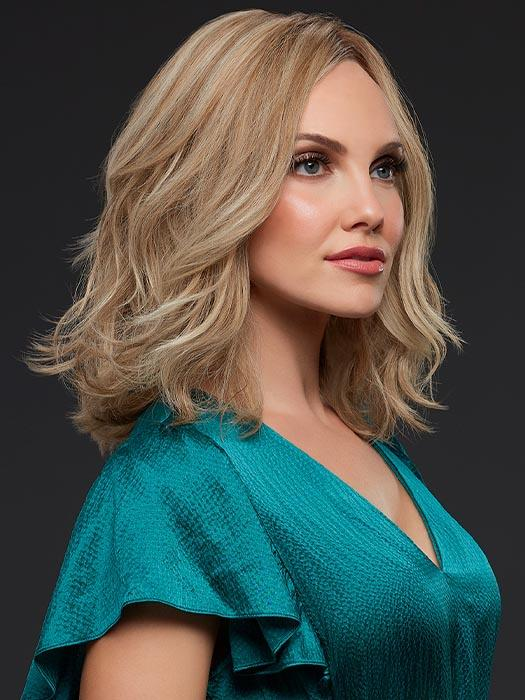 CARRIE Wig by JON RENAU in 12FS12 MALIBU BLONDE, Human Hair Wig