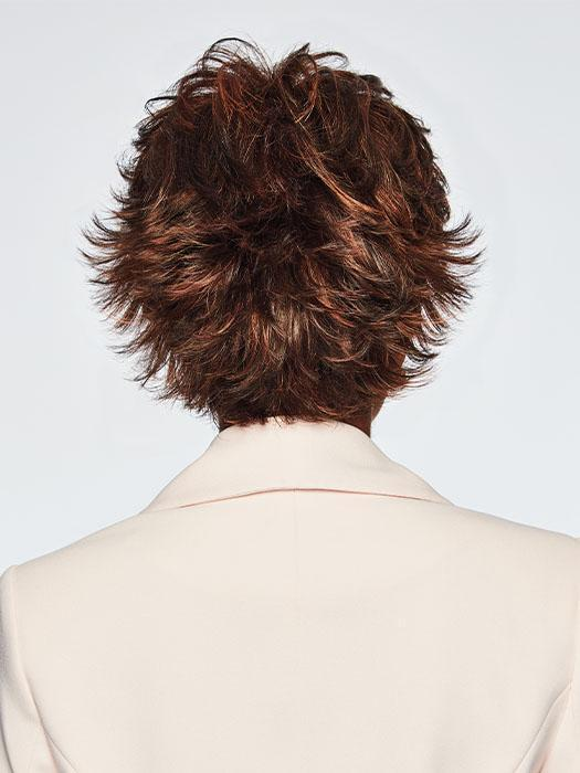 VOLTAGE by Raquel Welch in R6/30H CHOCOLATE COPPER | Dark Medium Brown Evenly Blended with Medium Auburn Highlights