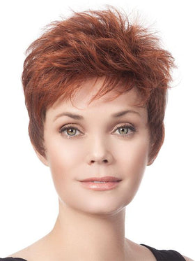 SHORT CUT PIXIE by TressAllure in 32/31 | Medium Red and Auburn blend