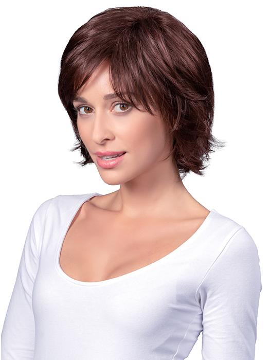 MID-LAYERED SHAG by TressAllure in 33 CHOCOLATE | Chocolate Brown