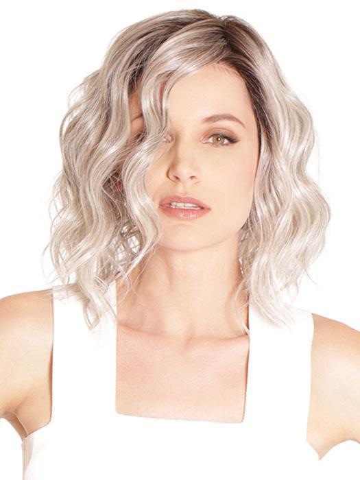 "Vienna Roast by BelleTress captures a new trendy style called the ""wob"" or wavy bob"