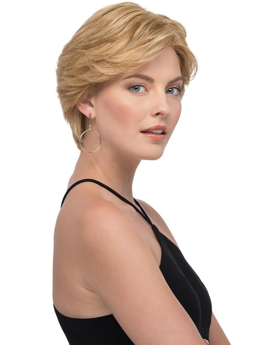 Sabrina features a mono top, hand-tied back, and lace front, promising comfort, and beauty in one perfect package