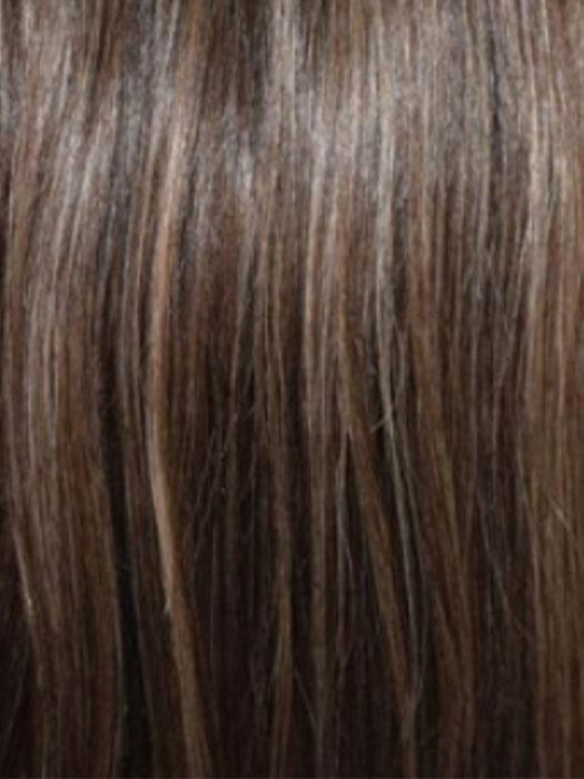 ROCKY-ROAD | Light Chestnut Brown base highlighted with Ash Blonde and Strawberry Blonde with Red tones