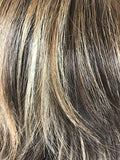 Chocolate Frost-R | Dark Brown with 50/50 of Dark Blond and Creamy Blond