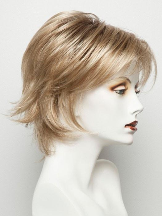Color Sugar-Cane = Platinum Blonde and Strawberry Blonde 50/50 blend base with Light Auburn highlight | Sky by Noriko