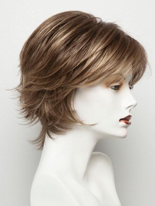 PECAN BROWN | Medium Brown with Light Gold Blond Highlights