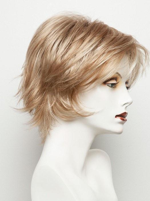 SUGAR CANE R | Rooted Platinum Blonde and Strawberry Blonde Evenly Blended Base with Light Auburn Highlights