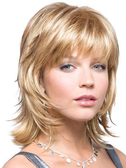 BAILEY by Rene of Paris in BUTTER PECAN | Dark Blonde with Light Golden Blonde Base Evenly Blended with Brown and Medium Auburn