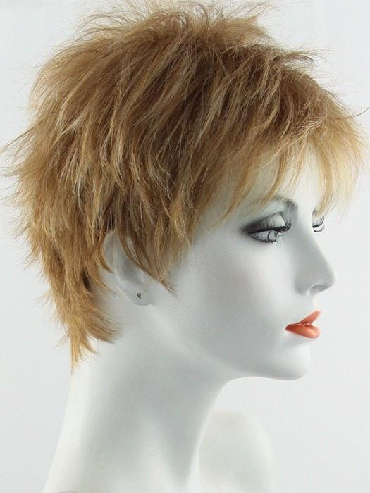 Color Apricot Frost = Bright Copper base with a Strawberry Blonde highlight