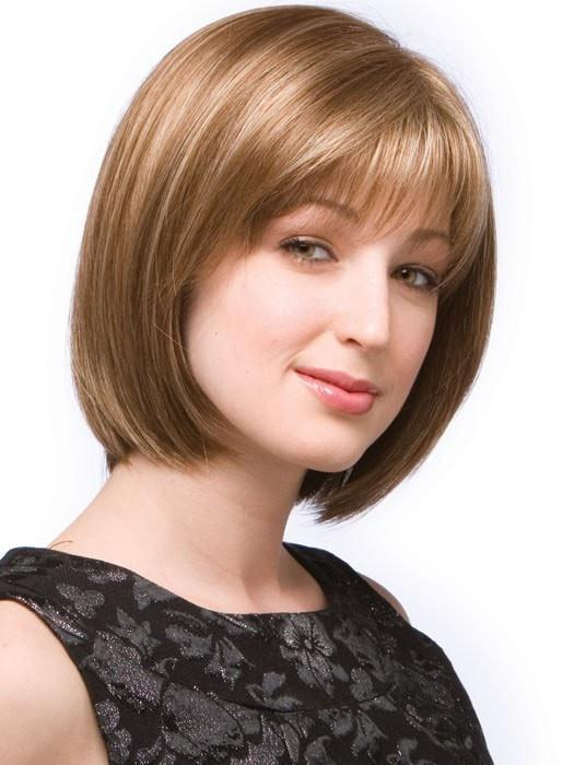 ERIKA by Amore in MAPLE SUGAR | Light Honey Brown Base With Strawberry Blonde Highlights