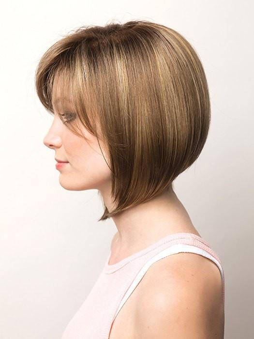 Customize the bangs by having them trimmed by your stylist | Color: Mochaccino R