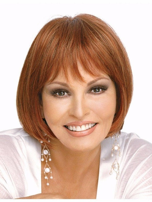 Color R28S = Glazed Fire: Fiery Red w/Bright Red Hightlights on Top | Influence by Raquel Welch