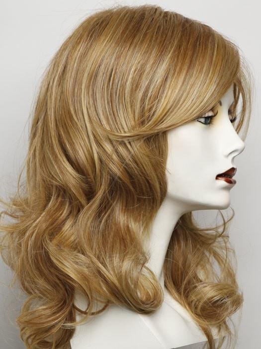 RL25/27 BUTTERSCOTCH | Golden Copper Blonde Blended With Light Auburn