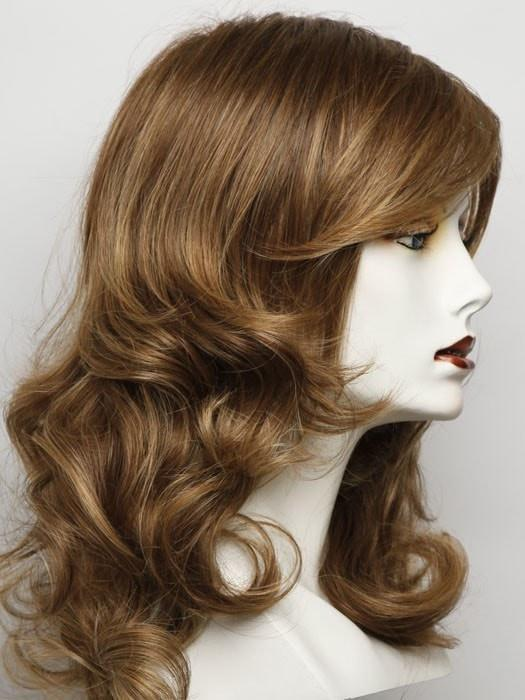 Color RL30/27 = Rusty Auburn: Pale red with warm blonde highlights | Always by Raquel Welch