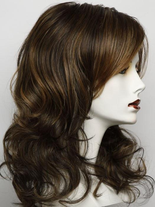 Color RL 8/29 = Hazelnut: A Medium Brown With Ginger Red Highlights
