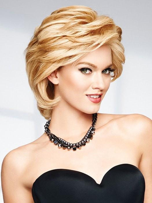 APPLAUSE by Raquel Welch in R14/88H GOLDEN WHEAT | Dark Blonde Evenly Blended with Pale Blonde Highlights