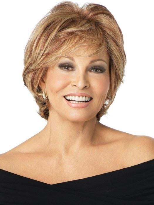 APPLAUSE by Raquel Welch in R29S+ GLAZED STRAWBERRY	| Light Red with Strawberry Blonde Highlights