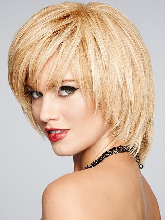 All face shapes are enhanced with this layered, short cut