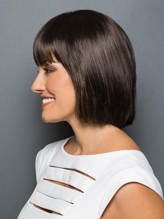 Monofilament crown for a smooth, natural contour | Color: R6