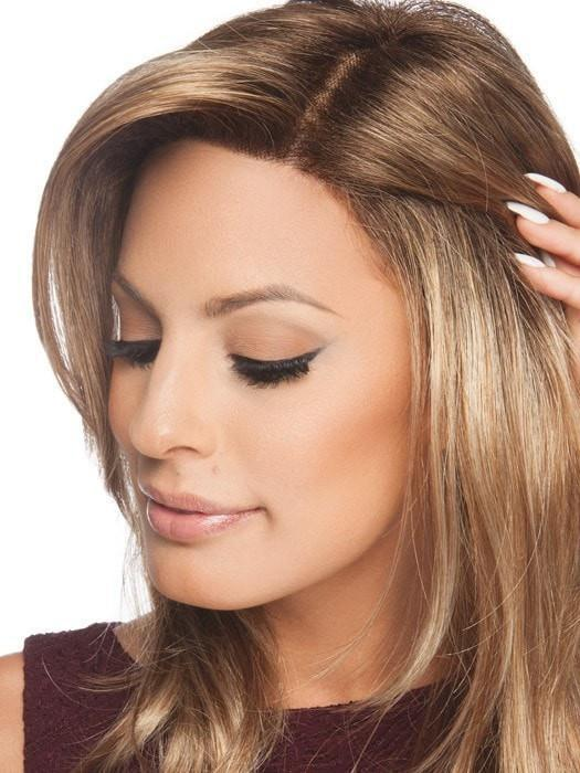"The Sheer Indulgence™ lace front is 1 ½"" deep giving a natural hairline appearance"
