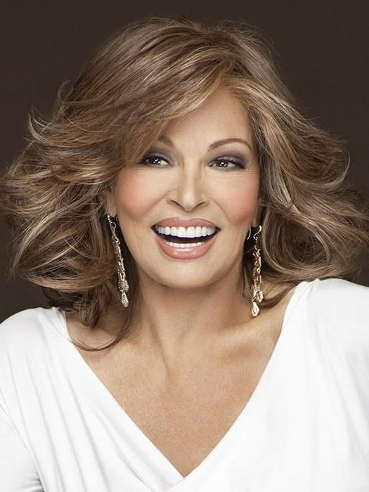 GODDESS by Raquel Welch in RL30/27 RUSTY AUBURN | Pale Red with Warm Blonde highlights