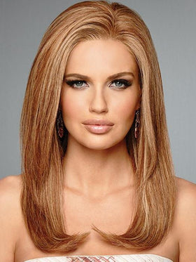 HIGH FASHION by Raquel Welch in R29S+ GLAZED STRAWBERRY | Light Red with Strawberry Blonde Highlights
