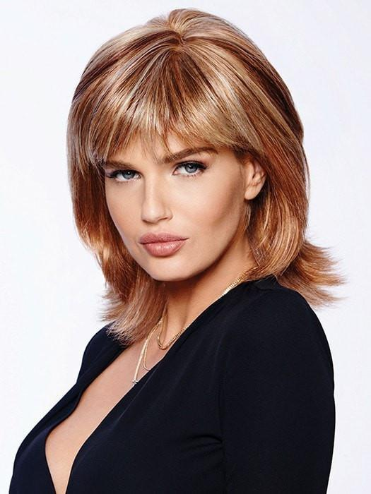 INFATUATION by Raquel Welch in R29S+ GLAZED STRAWBERRY | Light Red with Strawberry Blonde Highlights