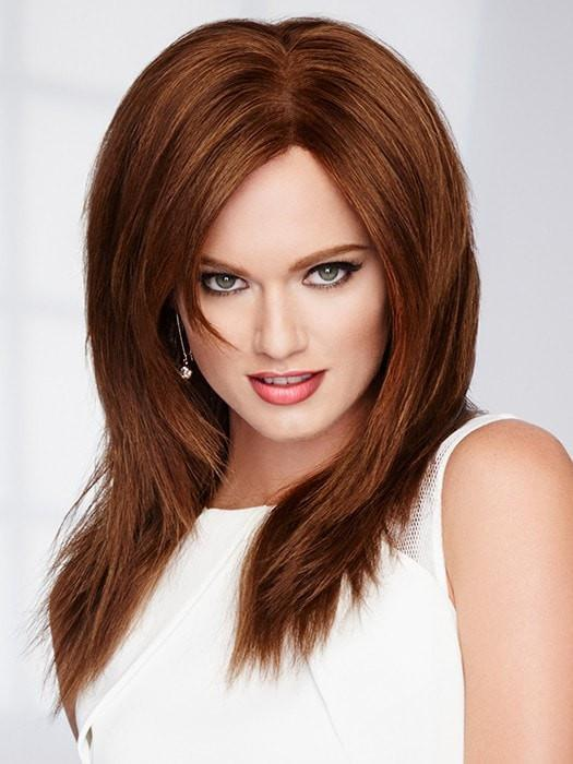 Dark Red Human Hair Wig by Raquel Welch in R6/30