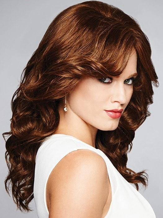 Long Curly Wig by Raquel Welch KNOCKOUT | 100% Human Hair Wig