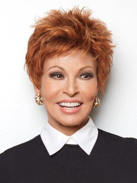 POWER by Raquel Welch in R28S GLAZED FIRE	| Fiery Red  with Bright Red Highlights on Top