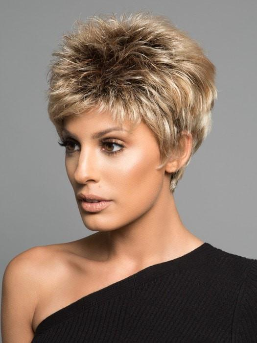 POWER by Raquel Welch in SS14/88 SHADED GOLDEN WHEAT | Dark Blonde Evenly Blended with Pale Blonde Highlights and Dark Roots