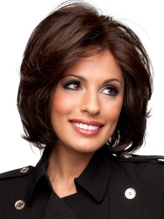 SOFT FOCUS by Raquel Welch in R3HH DARK BROWN (This piece has been styled for this look)