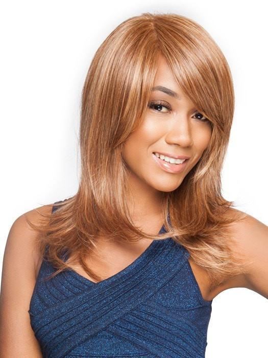 SPOTLIGHT by Raquel Welch in RL31/27 RUSTY AUBURN | Medium Auburn Evenly Blended with Strawberry Blonde