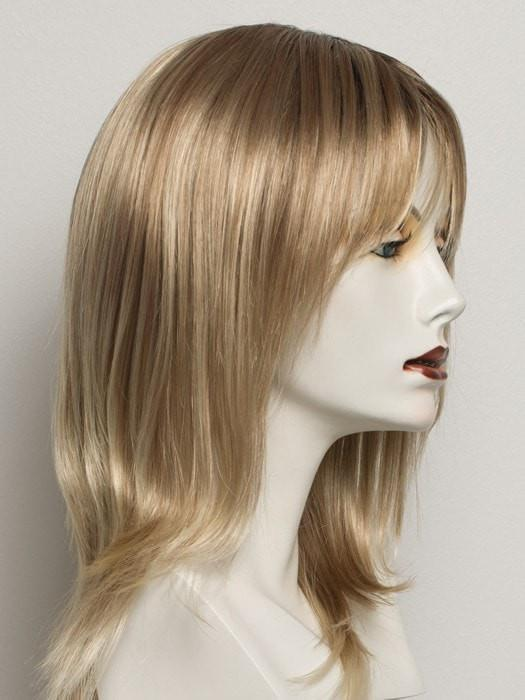 SS14/88 |  SHADED GOLDEN WHEAT | Dark Blonde Evenly Blended with Pale Blonde Highlights and Dark Roots