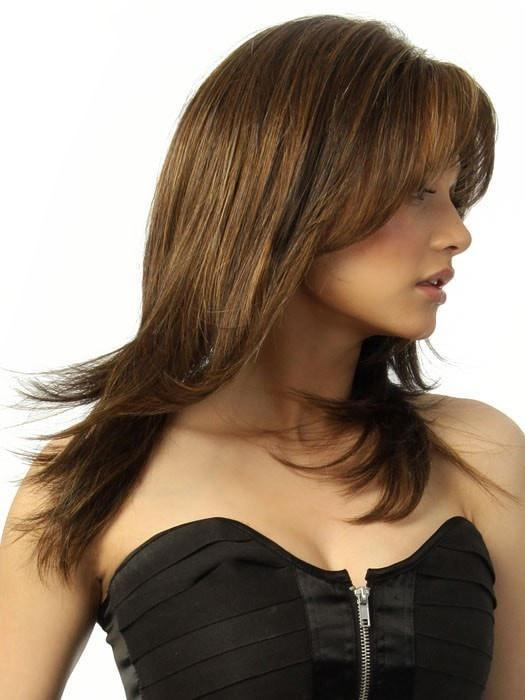 STAR QUALITY by Raquel Welch in R829S+ GLZED HAZELNUT | Rich Medium Brown with Ginger Highlights on Top