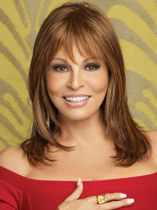 STAR QUALITY by Raquel Welch in R3025S+ GLAZED CINNAMON | Medium Auburn with Ginger Blonde Highlights on Top