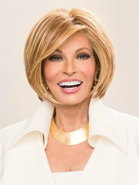 STRAIGHT UP WITH A TWIST by Raquel Welch in RL29/25 GOLDEN RUSSET | Ginger Blonde Evenly Blended with Medium Golden Blonde