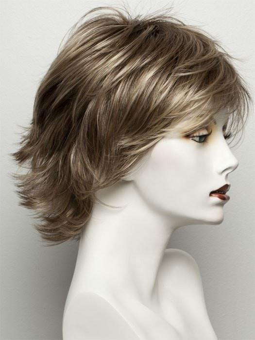 R3329S+ GLAZED AUBURN | Rich Dark Auburn with Pale Ginger Blonde Hightlights