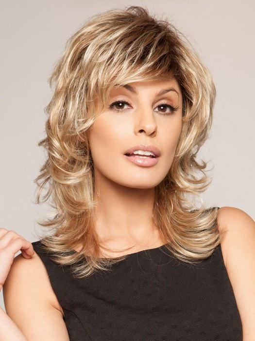 A mid-length shag with layers that add texture and built-in volume that give it tons of soft body