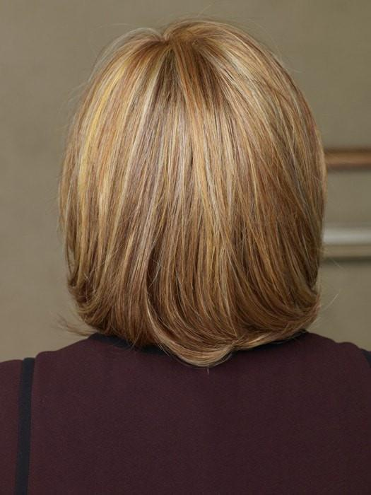 RL29/25 | GOLDEN RUSSET Ginger Blonde Evenly Blended with Medium Golden Blonde
