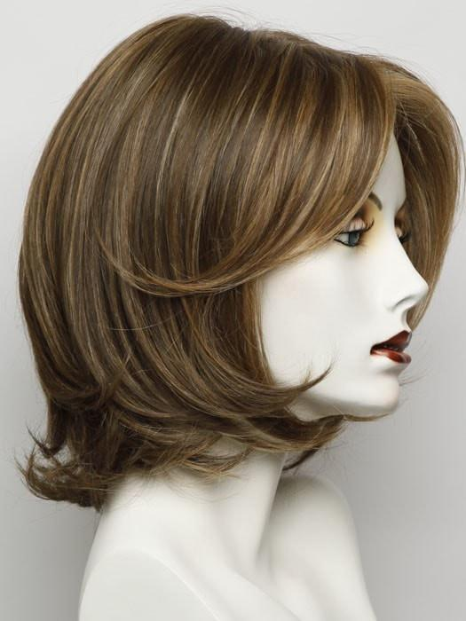 Color RL 12/16 = Honey Toast: A Light Brown With Subtle Honey Blonde Highlights