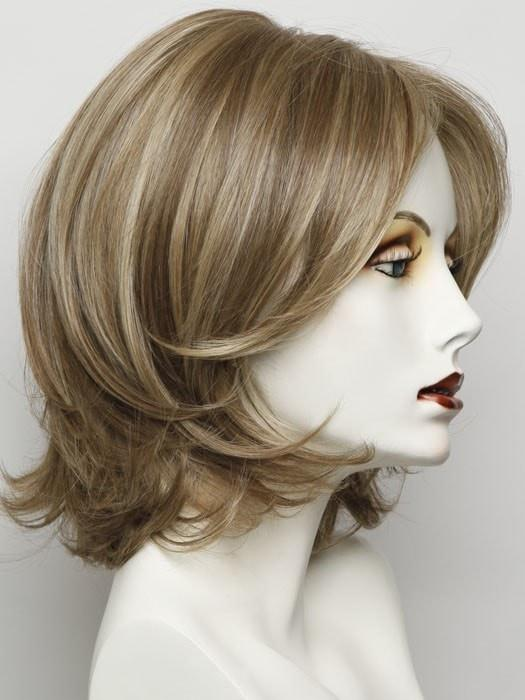 Color RL 13/88 = Golden Pecan: A Neutral Medium Blonde With Pale Honey Blonde Highlights