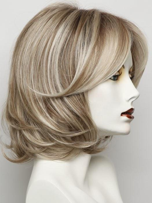 Color RL 19/23SS = Shaded Biscuit: A Cool Beige Blonde With Subtle Platinum Highlights & Medium Brown Roots