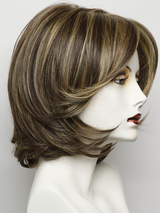 RL11/25 | GOLDEN WALNUT | Medium Light Brown Evenly Blended with Medium Golden Blonde