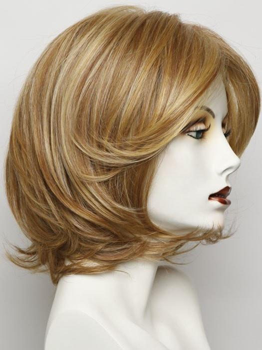 RL25/27 BUTTERSCOTCH | Medium Golden Blonde Evenly Blended with Strawberry Blonde