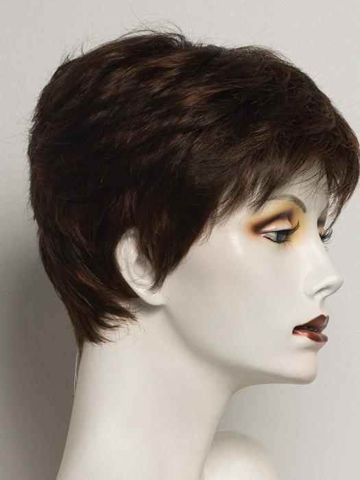 R6/28H COPPERY MINK | Medium Dark Brown With Vibrant Copper Red Highlights