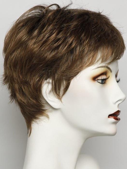 SS11/29 | SHADED NUTMEG | Warm Medium Brown Evenly Blended with Ginger Blonde and Dark Roots