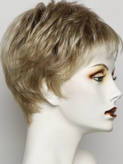 SS14/88 | GOLDEN WHEAT | Medium Blonde streaked with Pale gold highlights, medium brown roots
