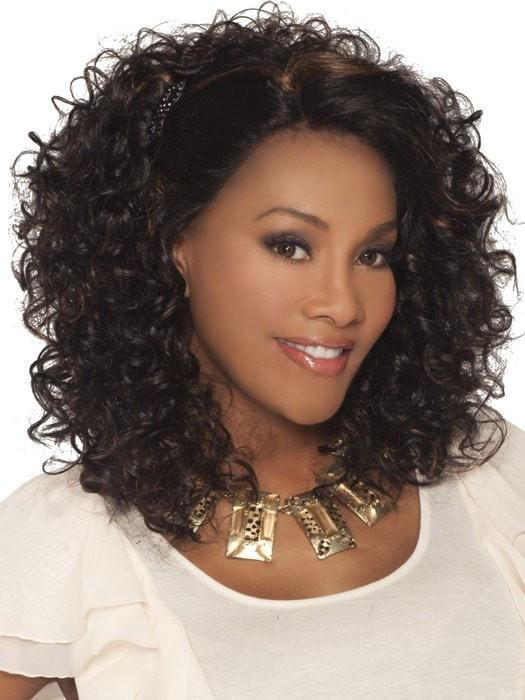 Foxy by Vivica Fox | Curly Lace Front Wig